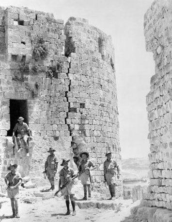 Войска Свободной Франции в Леванте. 14 июля 1941 г.