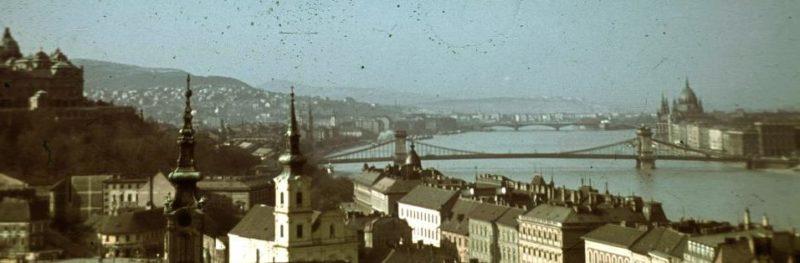 Будапешт в 1940 году.