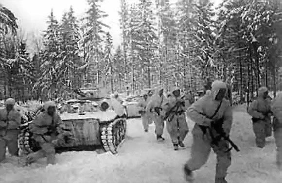 Бои под Можайском. Ноябрь 1941 г.
