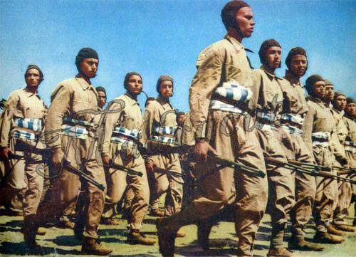 Итальянские десантники в Ливии. 1938 г.