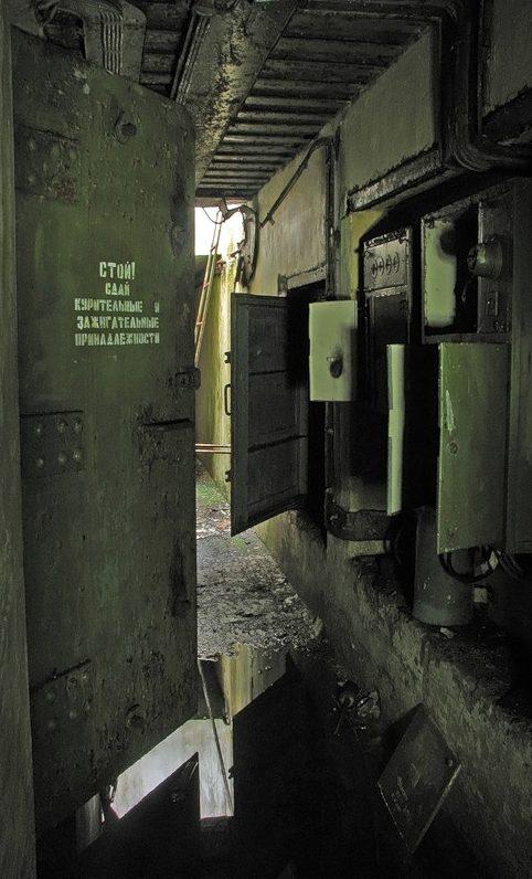Подземные помещения батареи «Поночевного».