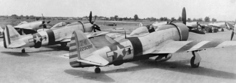 Аэродром 201-й эскадрильи на Филиппинах. 1945 г.
