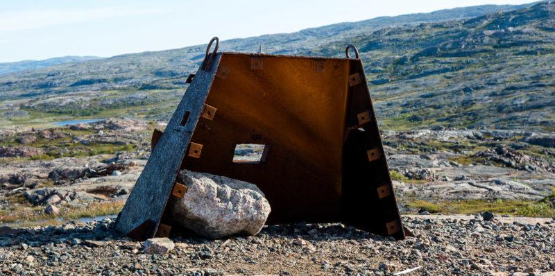 Огневая точка на хребте Муста-Тунтури.