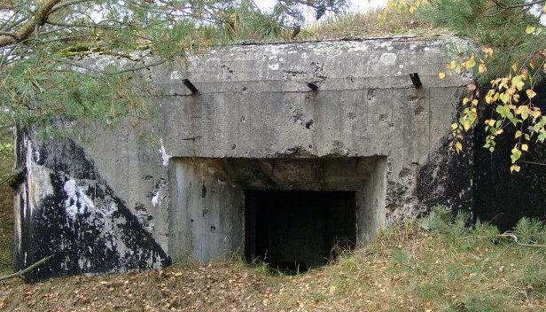 ДОТы у деревни Prosienica (ныне Польша).