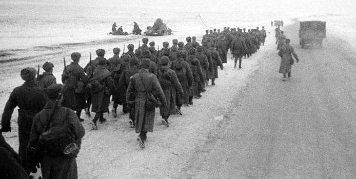Советские войска на Можайском направлении. Декабрь 1941 г.