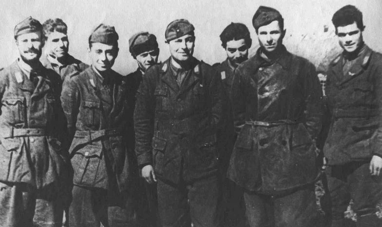 Итальянские офицеры в советском плену. Сентябрь 1942 г.