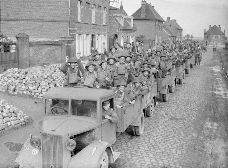 Британские экспедиционные силы во Франции. 1939 г.