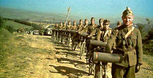 Венгерские солдаты в Трансильвании. 1940 г.