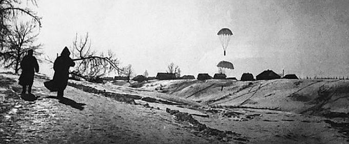 Прибытие очередного контейнера. Февраль 1942 г.