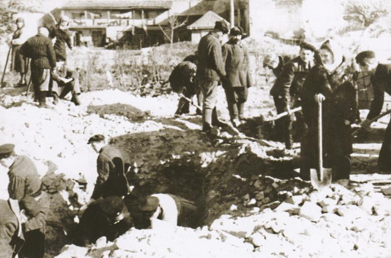 Восстановление завода им. Фрунзе. 1944 г.