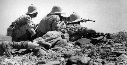 Иностранный легион Свободной Франции под Асмэрой. Эритрея, 1941 г.