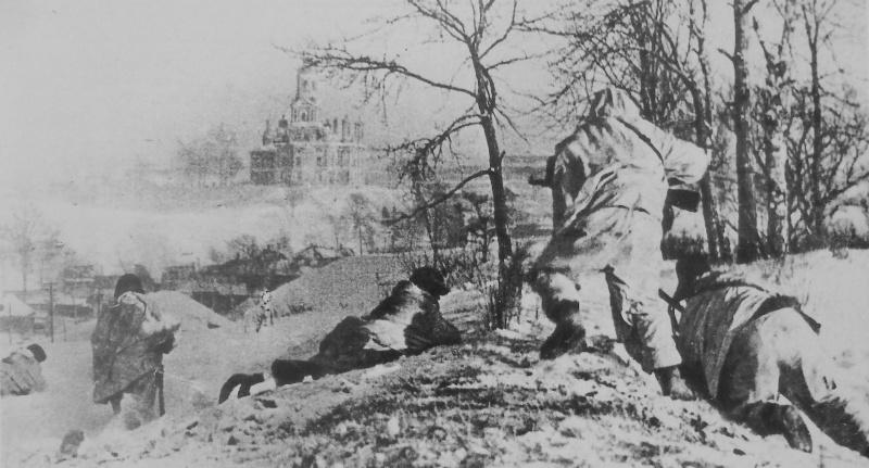 Бой на окраине Можайска. 20 января 1942 г.