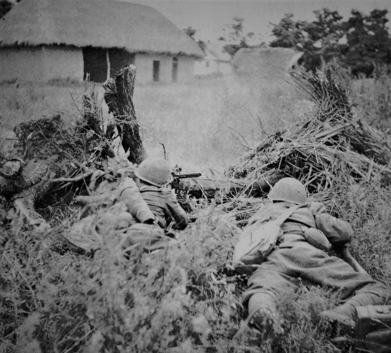 Итальянские солдаты в Албании. Апрель 1939 г.