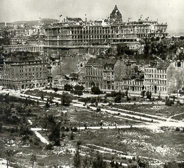 Вид на Будапешт. 1944 г.
