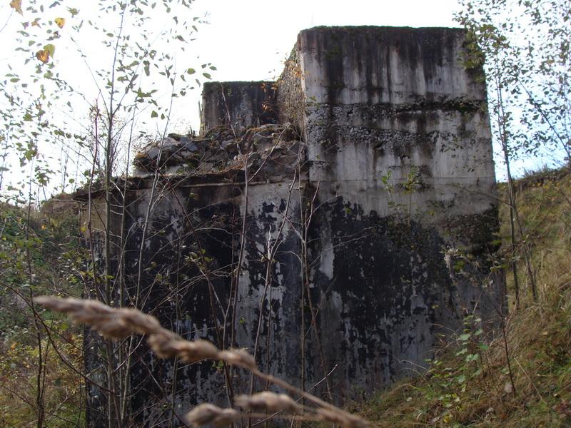 Одноэтажный наблюдательный пункт № 1004, построенный в 1941 году.
