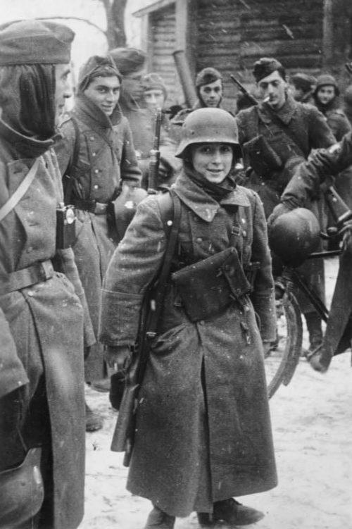 Французские легионеры под Москвой. Ноябрь 1941 г.