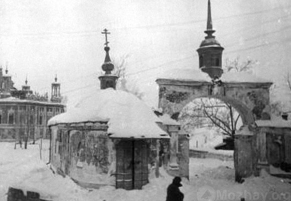 Ново-Никольский собор после освобождения Можайска. Январь 1942 г.