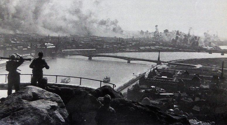 Бомбардировка Будапешта. 1944 г.