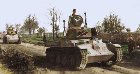 Вторжение венгерских войск в Югославию. 10 апреля 1941 г.