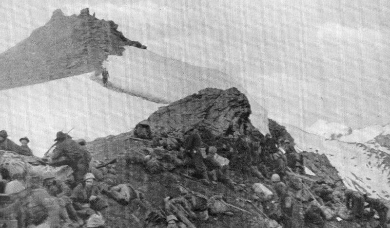 Итальянское вторжение во Францию в Альпах. Июнь1940 г.
