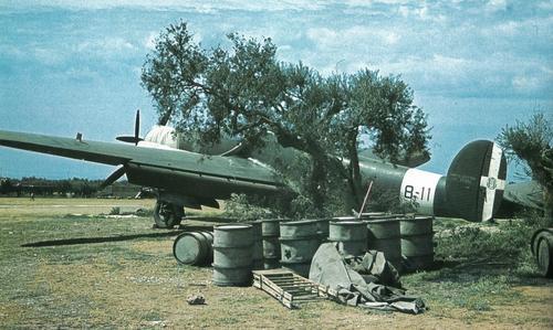 Сицилийский аэродром. Июнь 1940 г.
