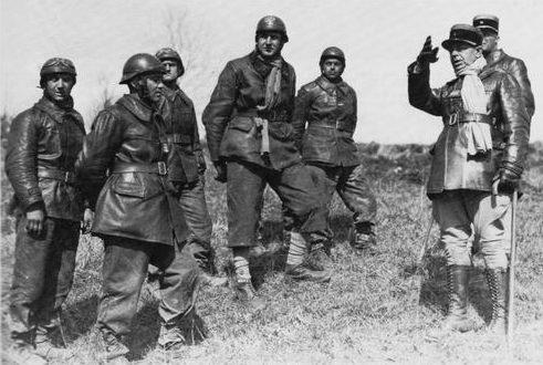 Французские танкисты. Март 1940 г.