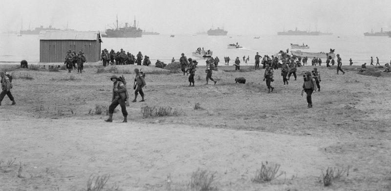 Американские войска в Арзее. Операция «Факел» в Северной Африке. Ноябрь 1942 г.
