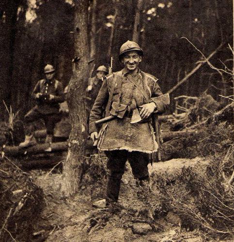 Странная война, Северо-Восточная Франция. Апрель 1940 г.