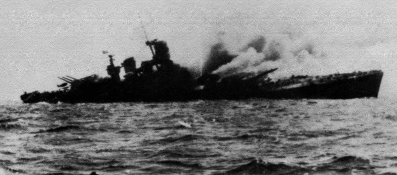 Гибель итальянского линкора «Рома». 9 сентября 1943 г.