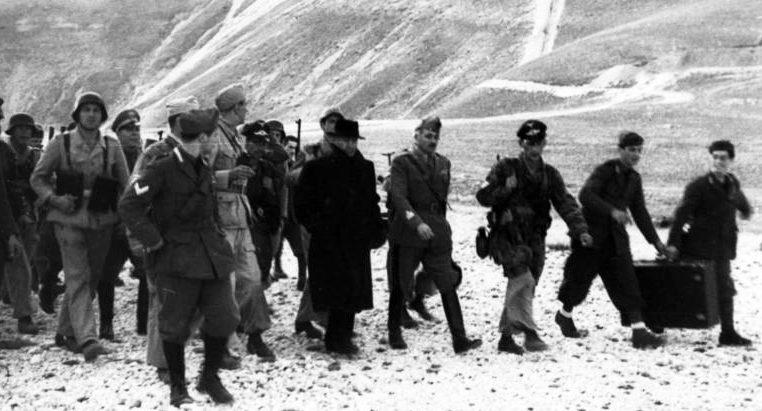 Освобождение Муссолини в Гран Сассо. Сентябрь 1943 г.