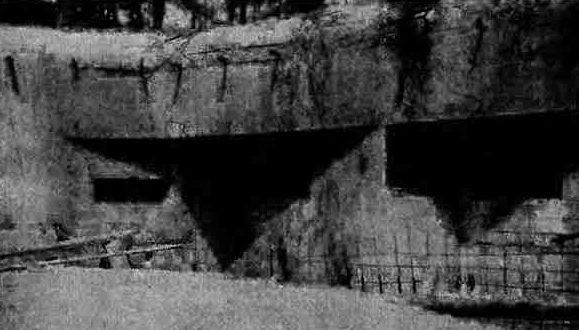 Недостроенный ДОТ УРа №6 в июне 1941 г.