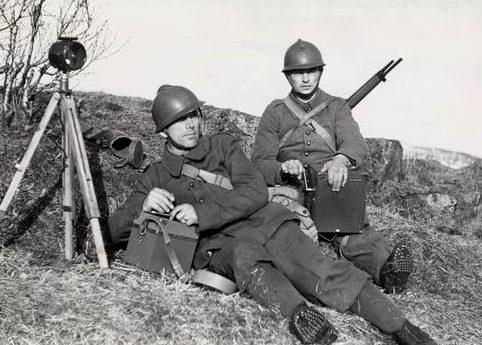 Французские солдаты в Нарвике. Май 1940 г.
