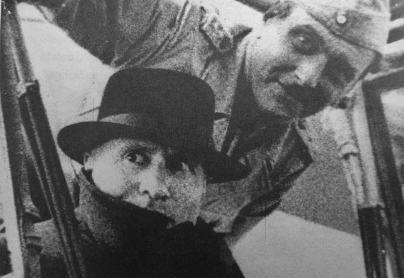 Отто Скорцени и Бенито Муссолини. Сентябрь 1943 г.