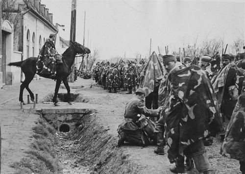 Привал. Восточный фронт. 1941 г.