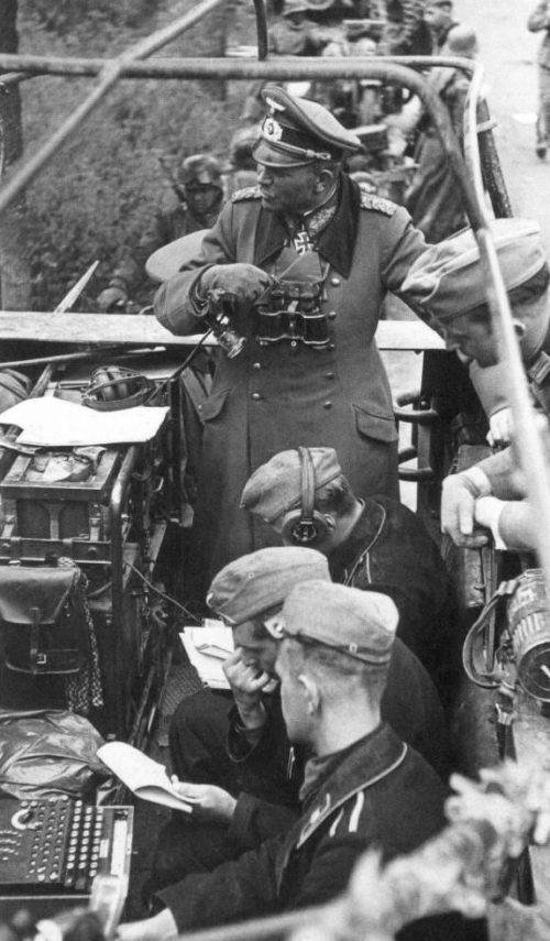 Передвижной командный пункт Хайнца Гудериана. Май 1940 г.