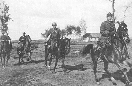 Венгерские кавалеристы на Восточном фронте. 1941 г.