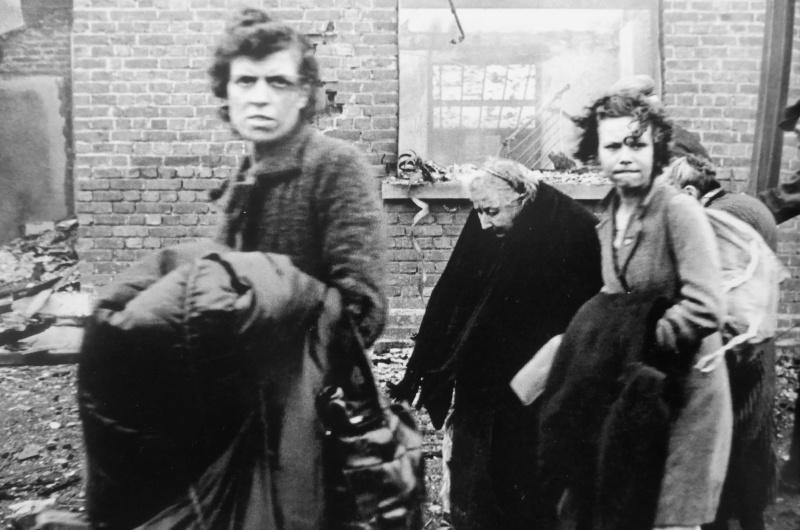 Французские беженцы. Май 1940 г.