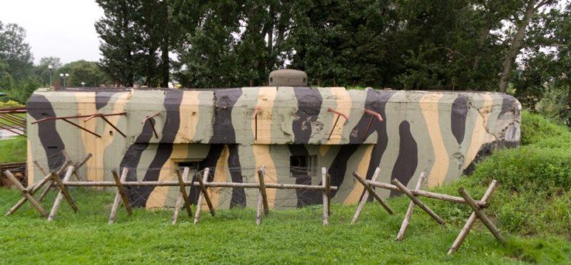 ДОТ-музей в Пшемысле (ныне Польша).