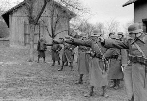 Офицерские стрельбы. 1941 г.