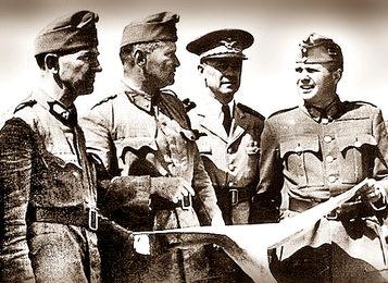 Венгерские офицеры под Киевом. Сентябрь 1941 г.