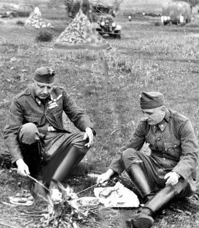 Привал на пути к Донскому фронту. Август 1942 г.