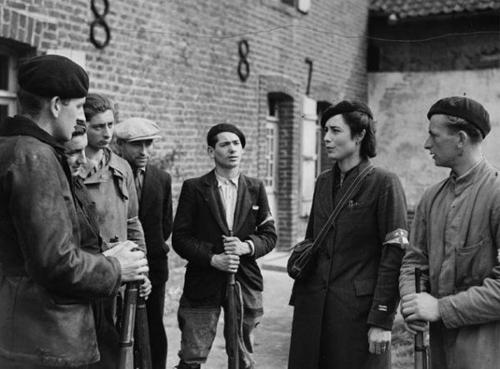 Члены французского Сопротивления в Булони. 1942 г.