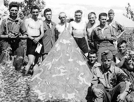 Полевой лагерь на Донском фронте. Август 1942 г.