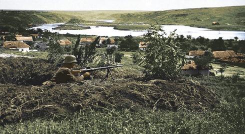 Венгерские пулеметчики. Берег Дона, август 1942 г.
