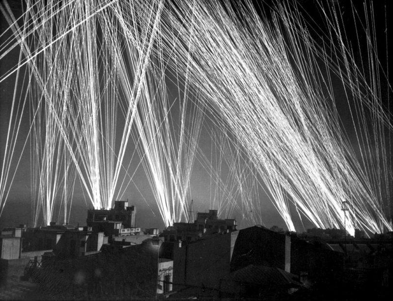 Отражение немецкого налета во Французском Алжире. 1943 г.