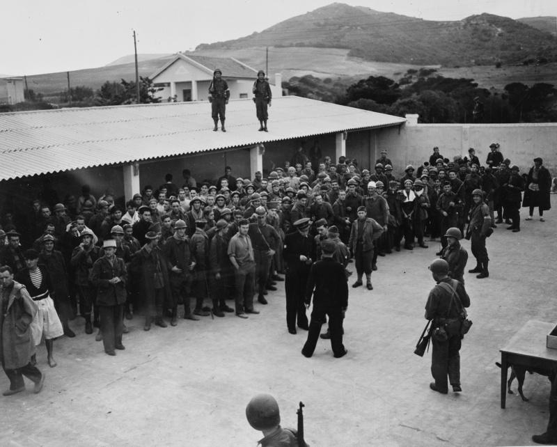 Освобождения французских военнопленных. 1943 г.