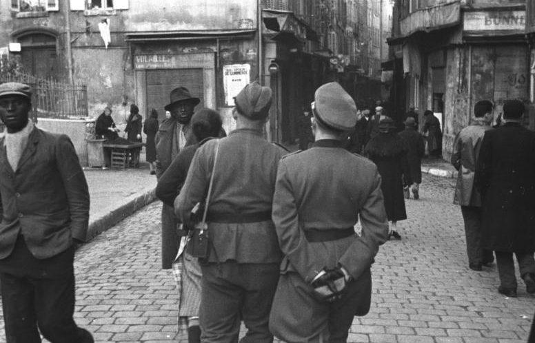 Марсель в оккупации. 1943 г.