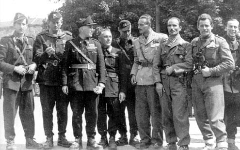 Члены итальянского Сопротивления. Октябрь 1944 г.