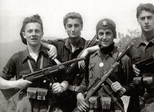 Солдаты «Черной бригады». 1944 г.