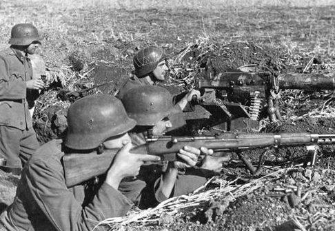 Окопы на Дону. Сентябрь 1942 г.